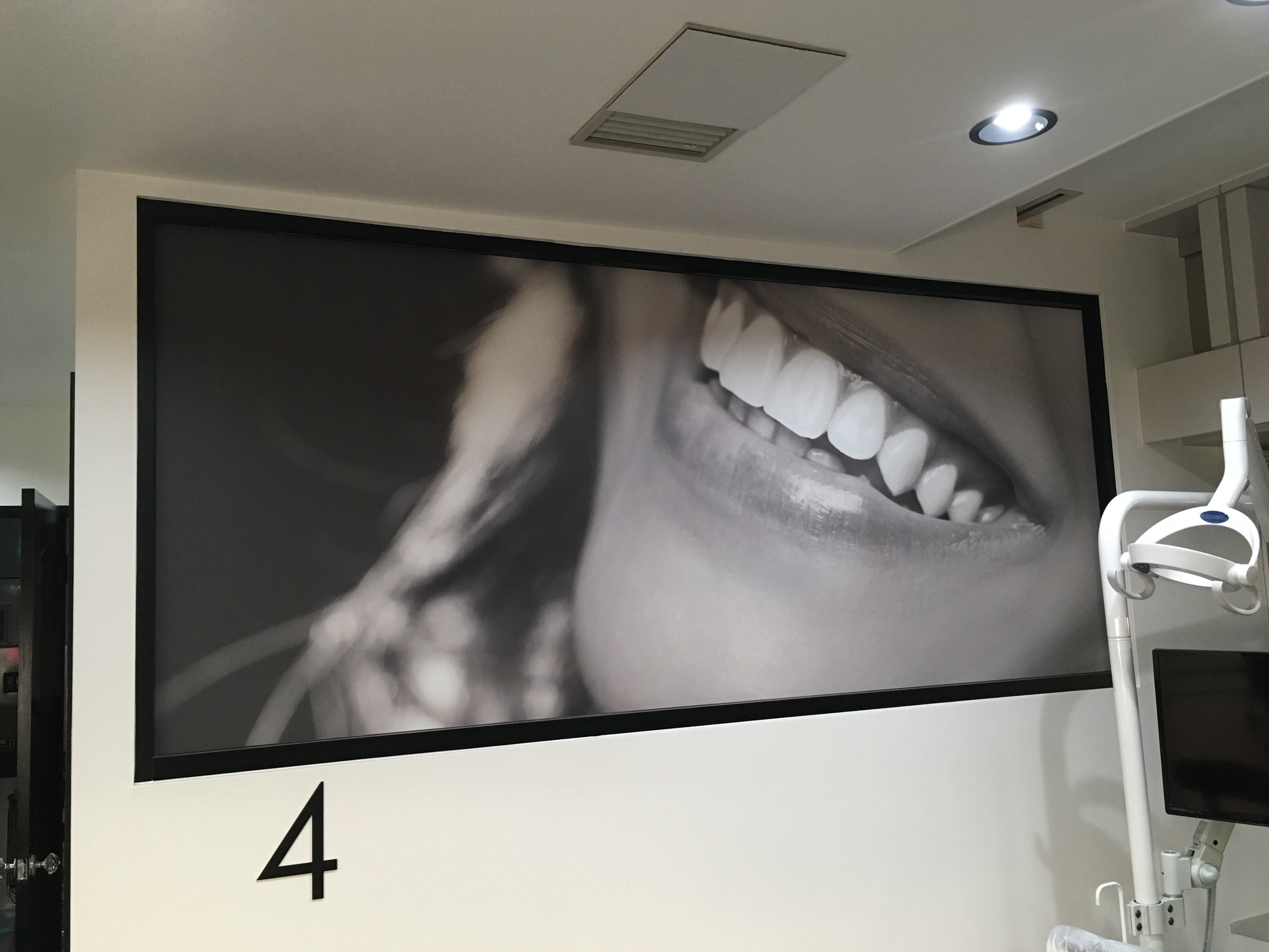 横浜の矯正歯科、ヨコハマデンタルオフィス内装