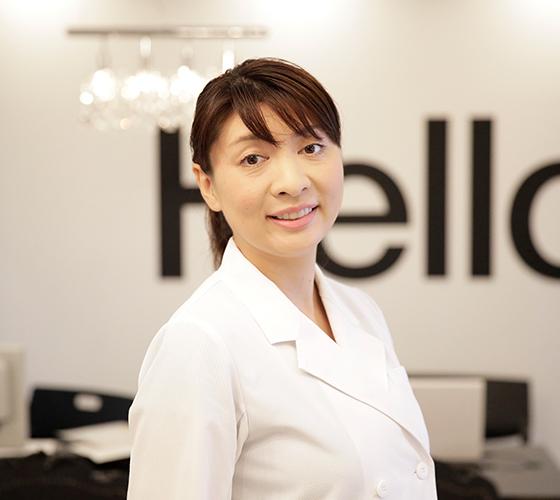 経験豊富な矯正歯科医 上田 桂子先生の写真